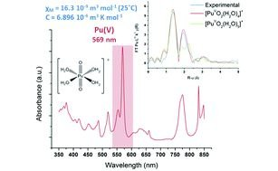 Structural and magnetic susceptibility characterization of Pu(V) aqua ion using sonochemistry as a facile synthesis method